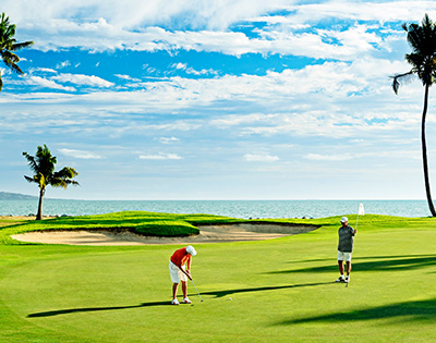 Golfing bliss in tranquil Fiji - Gallery Image