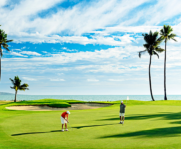 Golfing bliss in tranquil Fiji Main Image