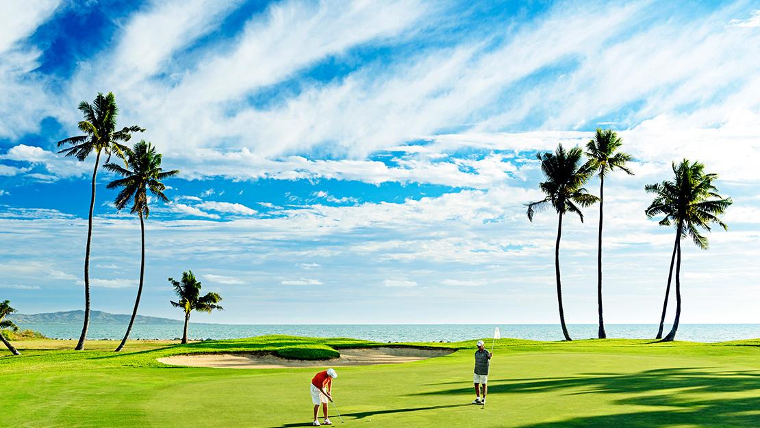 Golfing bliss in tranquil Fiji - Hero Image
