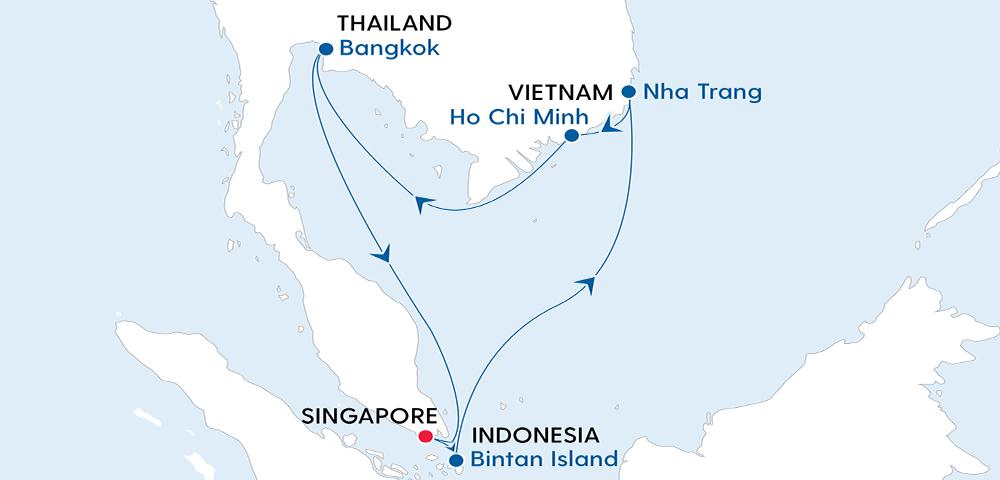 Voyage to Singapore, Bangkok & Vietnam Image 4