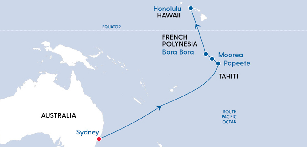 Ovation Sydney to Hawaii in 2022 Image 4