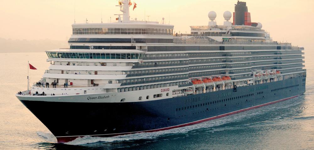 Cunard Cruise Line - Hero Image