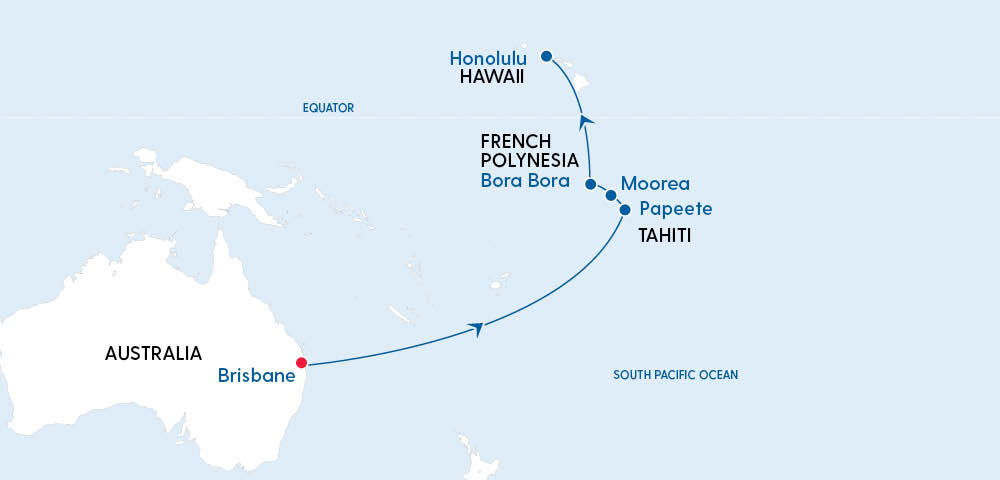 Tahiti & Hawaii Adventure onboard Quantum in 2022 Image 4
