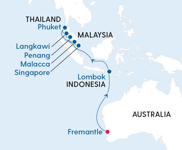 Asian Explorer Fremantle to Singapore Image 4