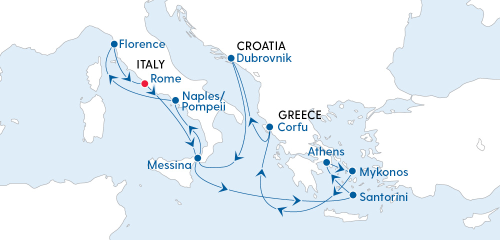 Escape to Italy, Croatia & the Greek Isles 2022 Image 4