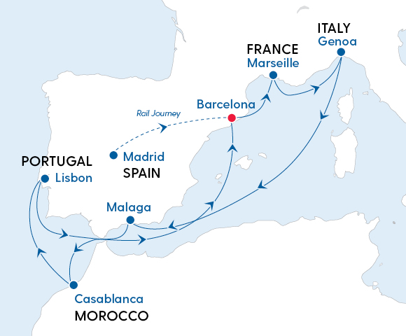 Splendours of Spain, Portugal & Morocco 2022 Image 4