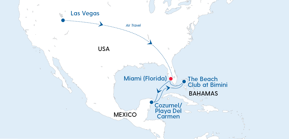 Irresistible Las Vegas, the Bahamas & Mexico Image 4