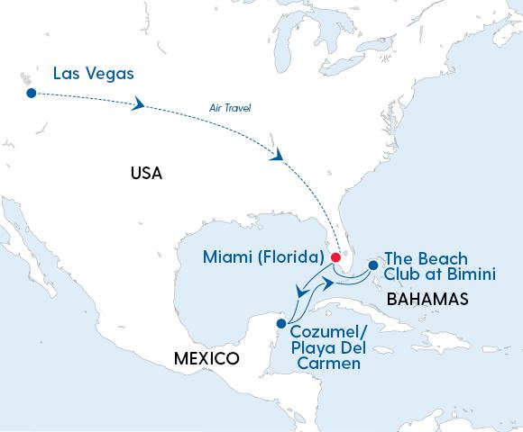 Irresistible Las Vegas, the Bahamas & Mexico - Gallery Image
