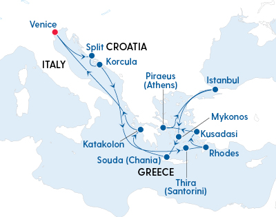 Discovery of Italy, Greece and Turkey - Gallery Image