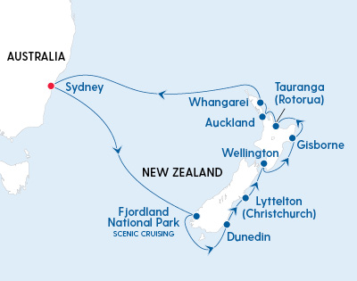 Christmas & New Year Voyage Around New Zealand - Gallery Image