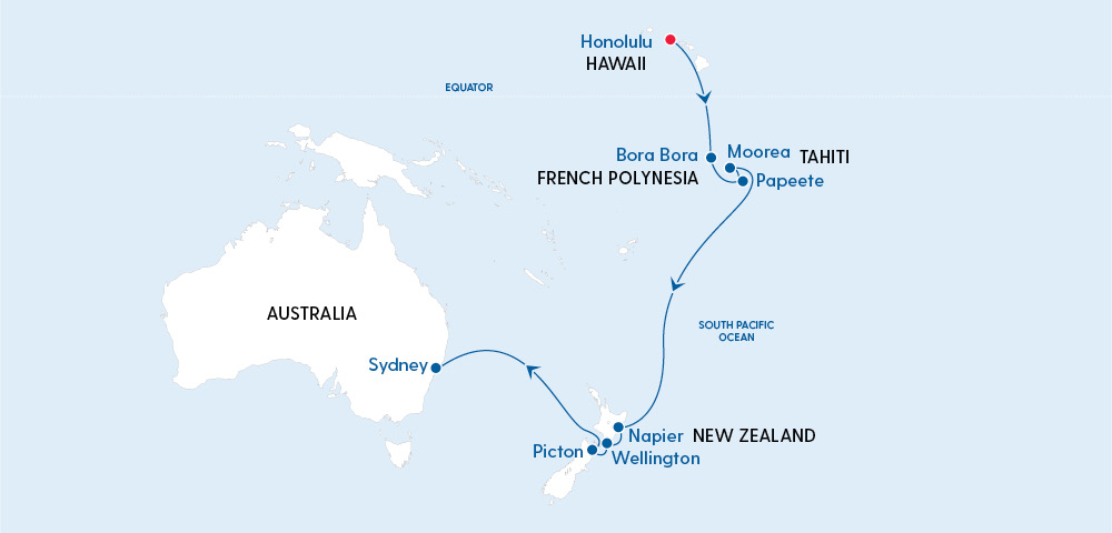 Ovation of the Seas Hawaii to Sydney in 2022 Image 4