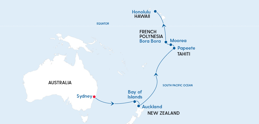 Ovation of the Seas – Sydney to Hawaii in 2023 Image 4