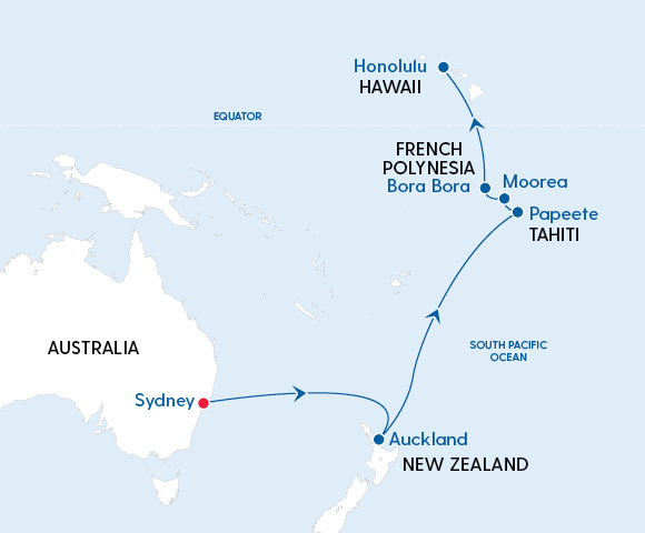 Radiance of the Seas – Sydney to Hawaii in 2023 Image 4