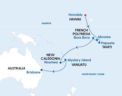 Quantum of the Seas Hawaii to Brisbane in 2022 - Gallery Image