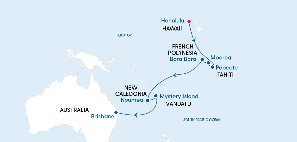 Quantum of the Seas Hawaii to Brisbane in 2022 Image 4