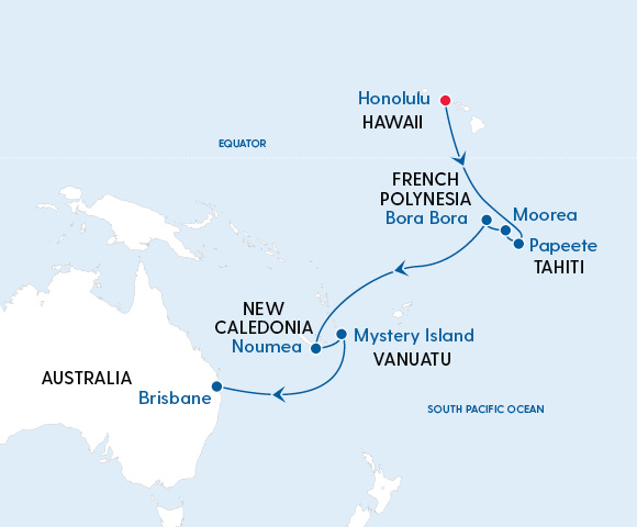 Quantum of the Seas Hawaii to Brisbane in 2022 Image 4