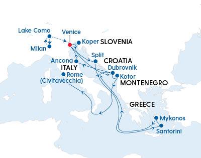 Italian Lakes, Croatia & The Greek Islands - Gallery Image