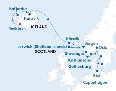 Magical Light of the Arctic – Reykjavik to Copenhagen with Regent Seven Seas - Gallery Image