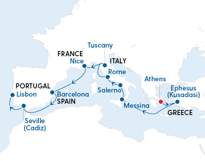 Luxury Ancient Cities of Europe – Athens to Lisbon with Regent Seven Seas - Gallery Image