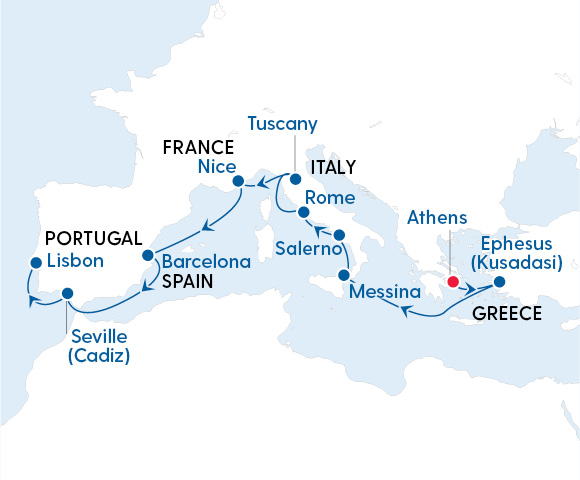 Luxury Ancient Cities of Europe – Athens to Lisbon with Regent Seven Seas Image 4