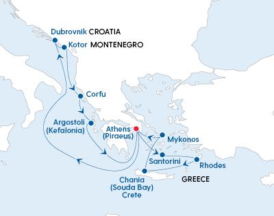 Stylish Greek Islands Glow & Croatian Discovery - Gallery Image