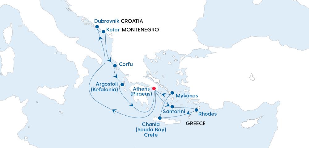 Stylish Greek Islands Glow & Croatian Discovery Image 4