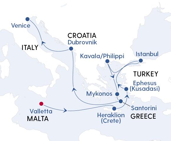Luxury Mediterranean Explorer from Malta to Venice with Regent Seven Seas Image 4