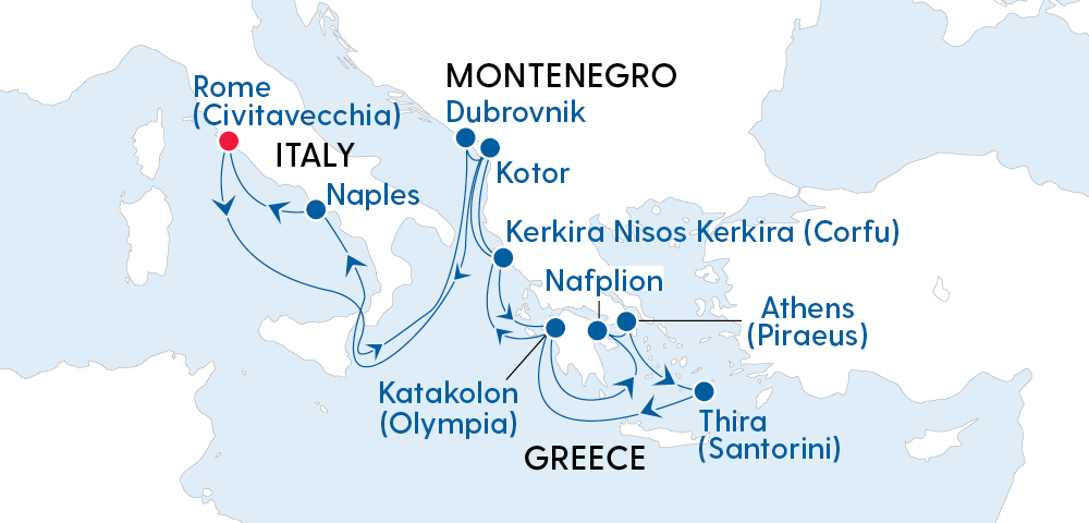 Treasures of Italy, Croatia & Greece Image 4