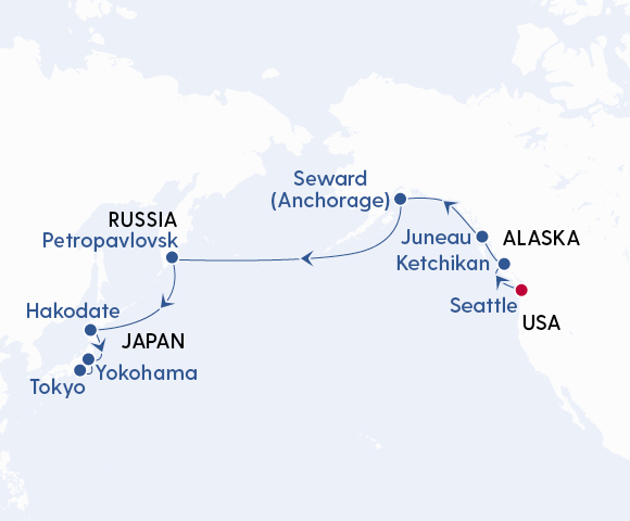 Discover Alaska, Russia & Japan Image 4