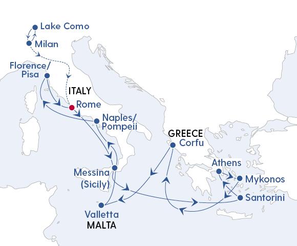 Lake Como, Santorini & Beyond Image 4