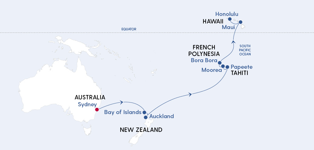 Luxury Sydney to Hawaii Image 4