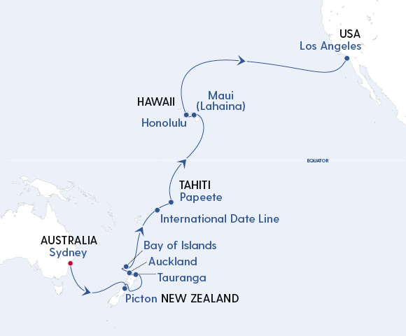 Majestic Pacific Journey – Sydney to Los Angeles Image 4
