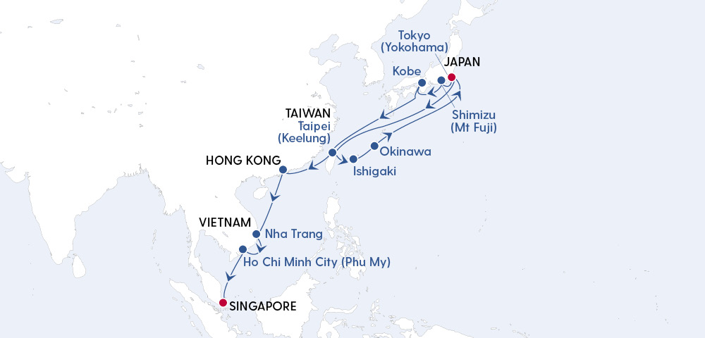 Odyssey From Tokyo To Singapore Image 4
