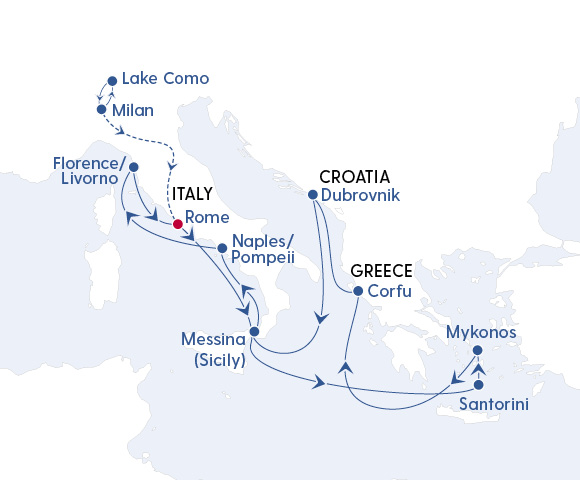 Lake Como, Santorini & Beyond in 2023 Image 4