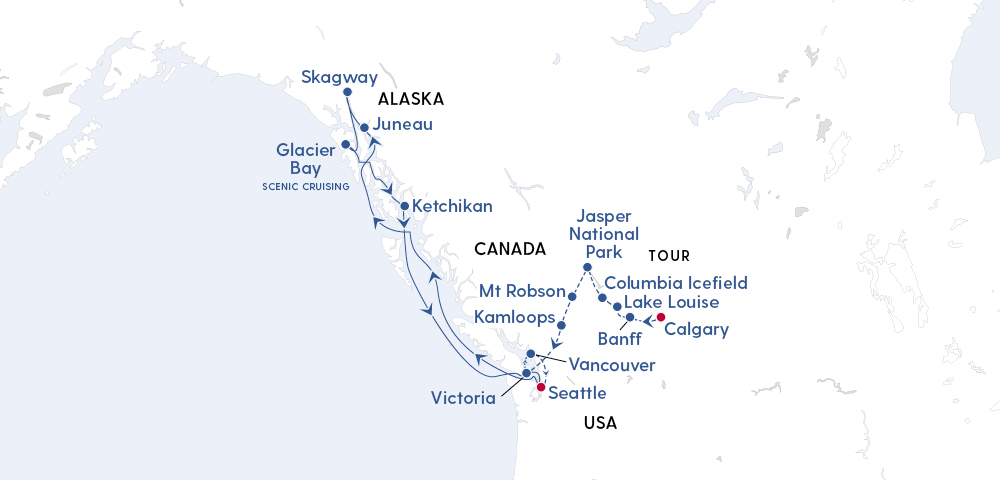 Discover the Heart of the Canadian Rockies & Alaska in 2023 Image 4