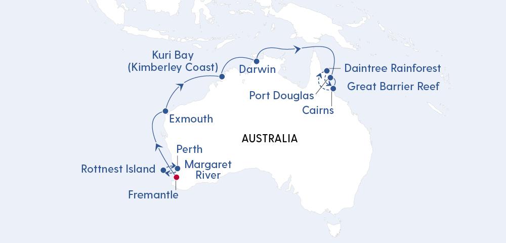 W.A. Kimberley Coast & Cairns Explorer Image 4