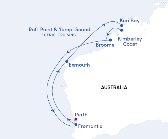 Perth & Kimberley Coast Discovery Image 4