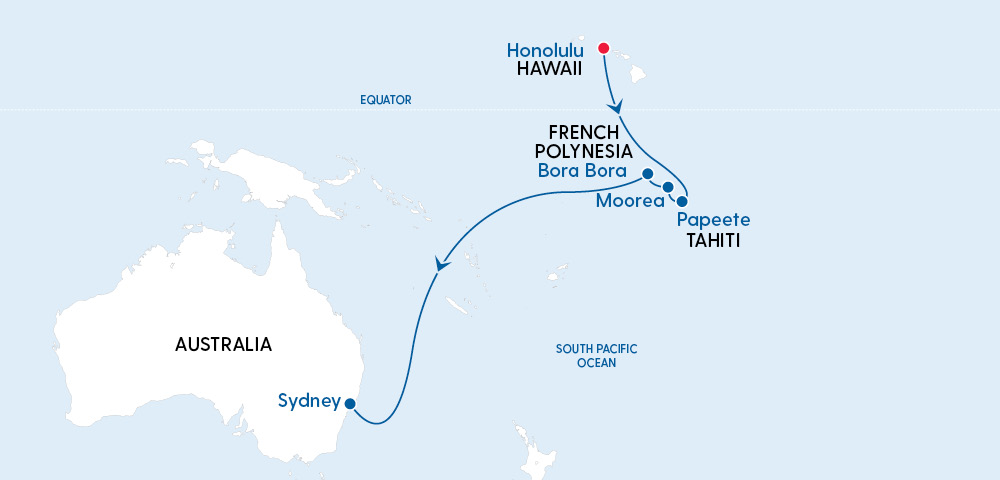 Radiance of the Seas Hawaii to Sydney in 2022 Image 4