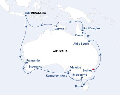 Cunard's Grand Australian Discovery - Gallery Image