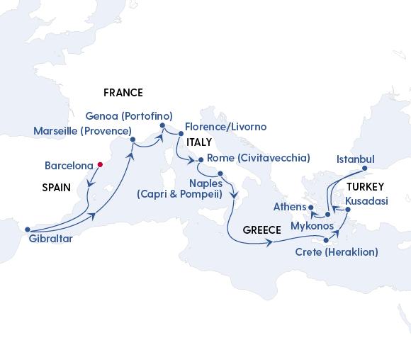 Spain, Italy, Greek Islands & Beyond Image 4