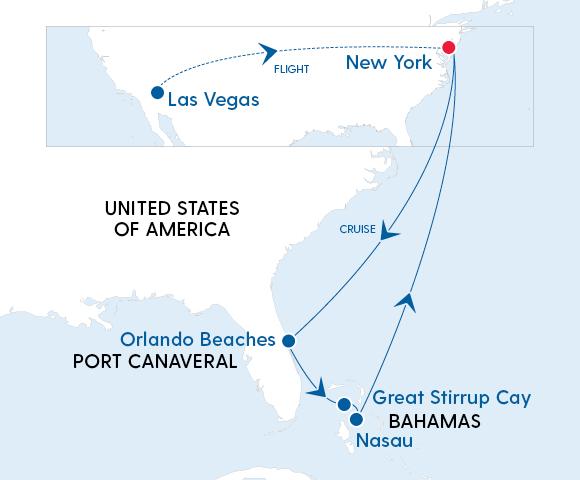 Experience Las Vegas, New York & the Bahamas in 2023 Image 4