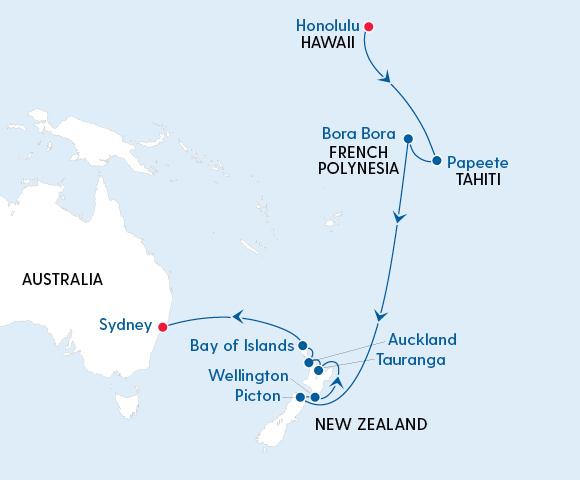 Royal Hawaiian Islands & New Zealand Adventure Image 4