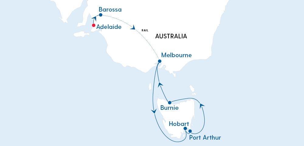 Barossa, The Great Ocean Road, Tasmania & Beyond Image 4