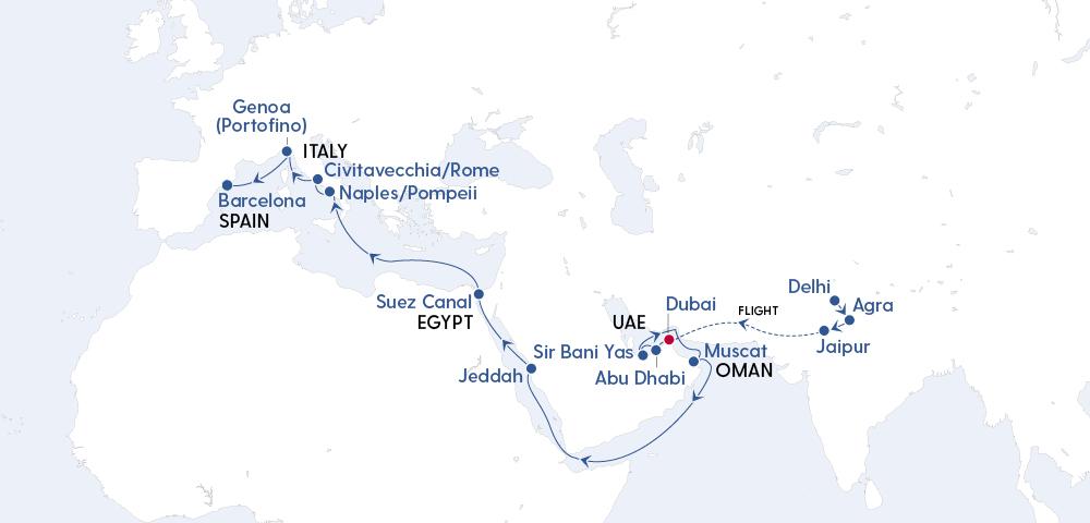 India's Golden Triangle & Grand Voyage to Dubai Image 4
