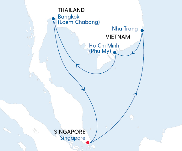 Tropical Singapore, Vietnam & Thailand Image 4